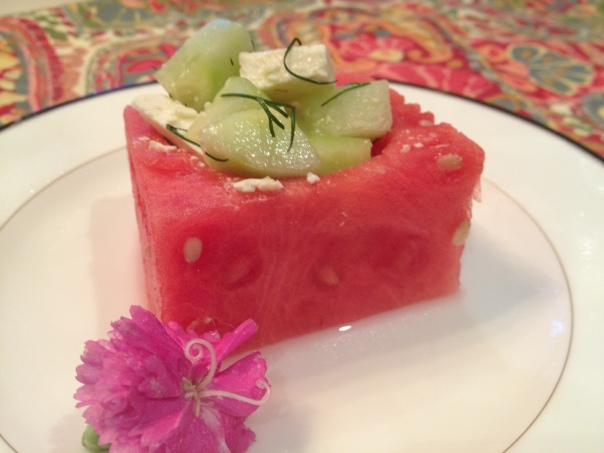 Watermelon Salad Copyright Shelagh Donnelly