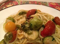 Pasta Primavera Copyright Shelagh Donnelly