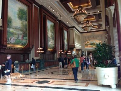 Manchester Hyatt lobby; ask for Vincent