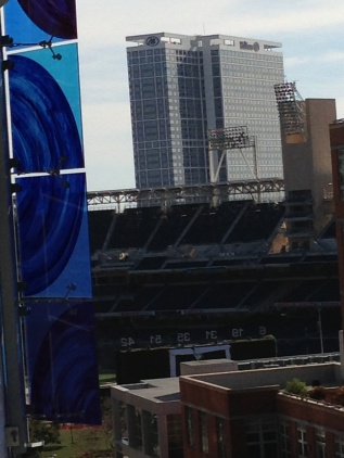 Petco Park: a room with a view