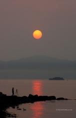 Spanish Banks Sunset 5474 Copyright Shelagh Donnelly