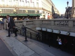 Paris Metro Opera Copyright Shelagh Donnelly