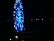 Seattle Great Wheel 5568 Copyright Shelagh Donnelly
