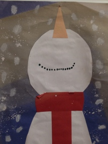 Snowman by Young Artist Photo Copyright Shelagh Donnelly