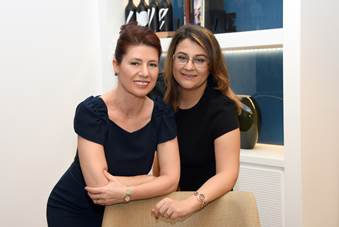 Filiz Yurttaşer (L) and Menekşe Ahbab - Turkey