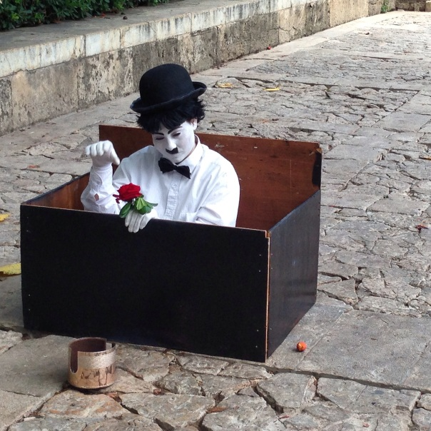 Street Artist Palma de Mallorca Copyright Shelagh Donnelly