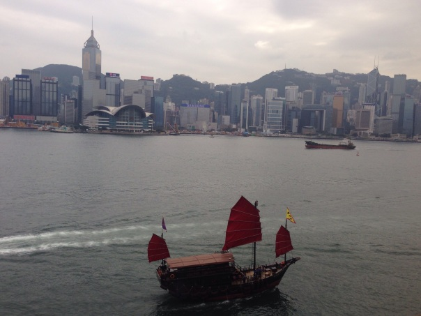 Victoria Harbour from IC HK Copyright Shelagh Donnelly