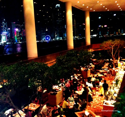 Harbourside Buffet InterContinental HK Copyright Shelagh Donnelly