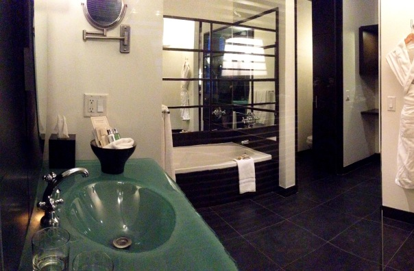 Le Germain Hotel Quebec Bathroom 6306 Copyright Shelagh Donnelly