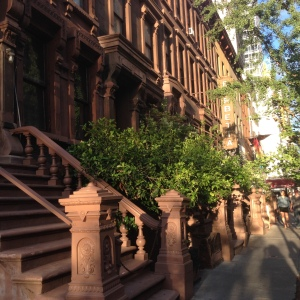 Hell's Kitchen Brownstones 9939 Copyright Shelagh Donnelly