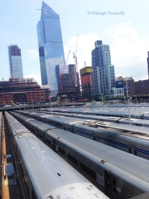 Hudson Yard from High Line NYC Copyright Shelagh Donnelly