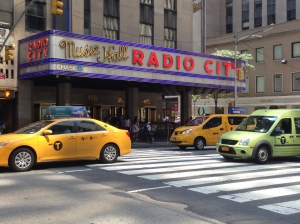 Radio City Music Hall Copyright Shelagh Donnelly
