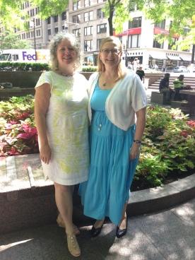 Shelagh, Bianca at Zuccotti Park, NYC (2)