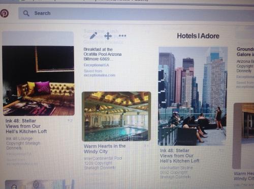 Hotels Shelagh Adores - On Pinterest
