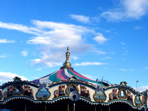 PNE Merry Go Round 3043 Copyright Shelagh Donnelly