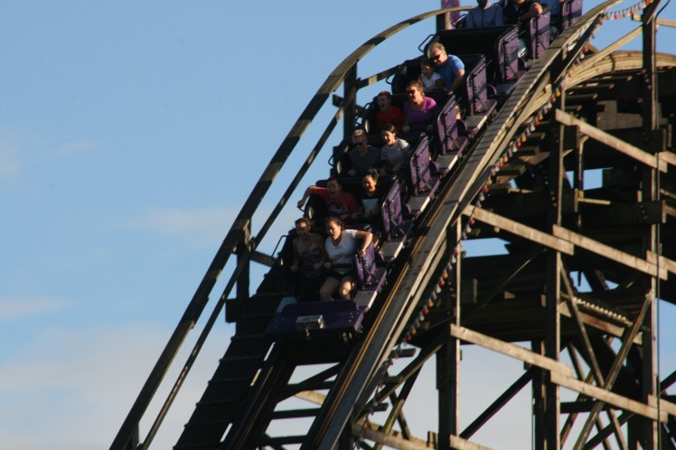 PNE Rollercoaster 1189 Copyright Shelagh Donnelly
