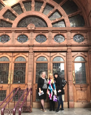 Shelagh, Maria, Victoria - University of Manchester Copyright Shelagh Donnelly